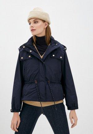 Куртка и жилет Weekend Max Mara GUELFI. Цвет: синий