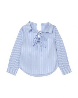 Блузка CLU. Цвет: синий