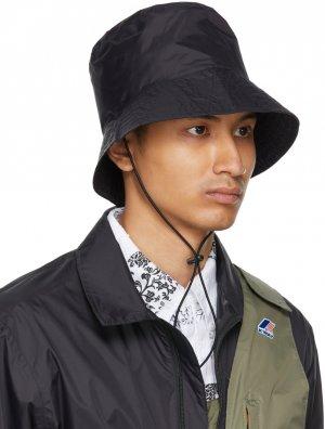 Black K-Way Edition Pascalen 3.0 Bucket Hat Engineered Garments. Цвет: black