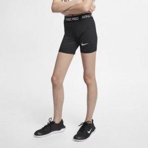 Короткие шорты для девочек школьного возраста Pro - Черный Nike