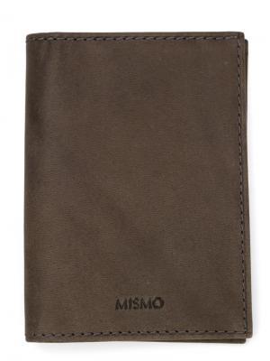 Кошельки и визитницы Mismo. Цвет: серый