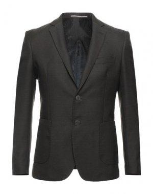 Пиджак EXIBIT. Цвет: коричневый