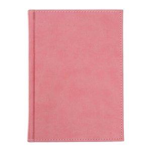 Ежедневник датированный а5 на 2022 год, 168 листов, обложка искусственная кожа vivella, розовый Calligrata