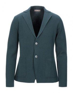 Пиджак CRUCIANI. Цвет: темно-зеленый