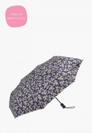 Зонт складной Fulton. Цвет: фиолетовый