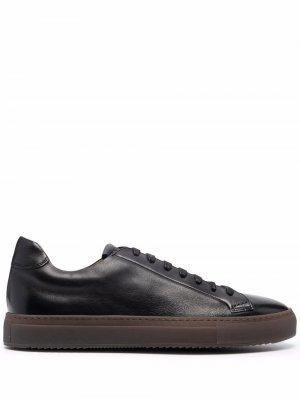 Doucals DU1796KOBEUF188 RN00 BLACK Leather/Fur/Exotic Skins->Leather Doucal's. Цвет: черный
