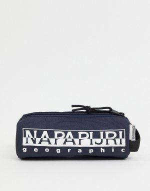 Темно-синий бумажник Happy PC-Голубой Napapijri