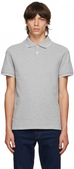 Grey Max Polo A.P.C.. Цвет: pla hthrgry