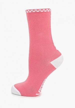 Носки Vans. Цвет: розовый