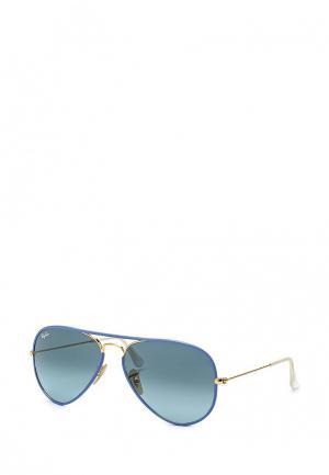 Очки солнцезащитные Ray-Ban® 0RB3025JM 001/4M58. Цвет: разноцветный