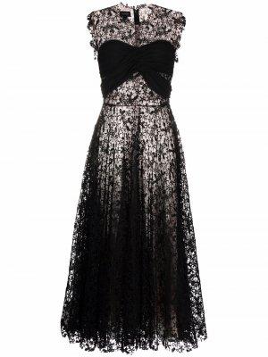 A-line lace dress Giambattista Valli. Цвет: черный