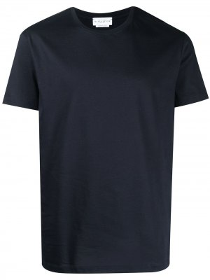 Однотонная футболка Ballantyne. Цвет: синий