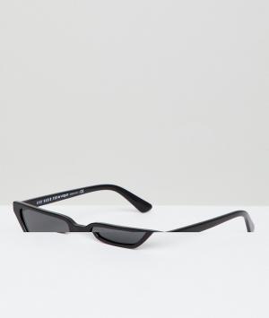 Черные солнцезащитные очки кошачий глаз Eyewear by gigi hadid-Черный Vogue
