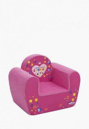 Игрушка мягкая Paremo Игровое кресло серии Инста-малыш, Любимая Доченька. Цвет: розовый