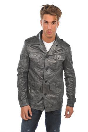 Куртка Arturo. Цвет: серый