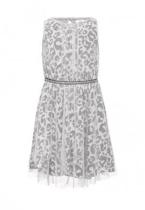 Платье Little Pieces. Цвет: серый