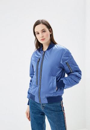 Куртка Conso Wear. Цвет: голубой