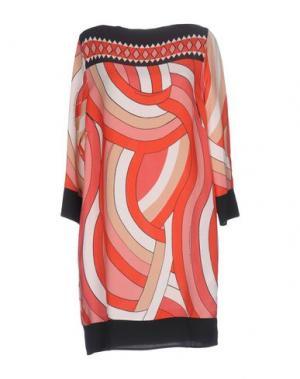 Короткое платье ATOS LOMBARDINI. Цвет: красный