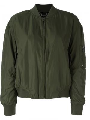 Sleeve pocket bomber jacket Calvin Klein Jeans. Цвет: зелёный