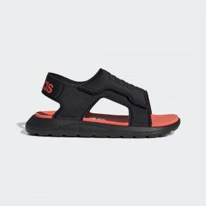 Сандалии Comfort Performance adidas. Цвет: красный