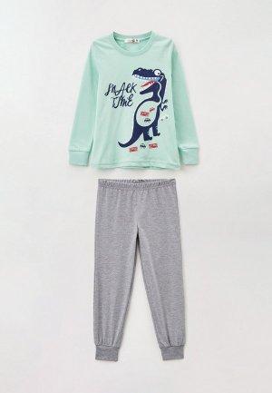 Пижама RoxyFoxy. Цвет: разноцветный