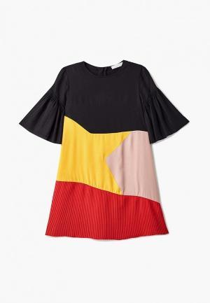 Платье Stella McCartney Kids. Цвет: разноцветный
