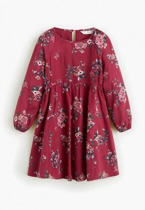 Платье Mango Kids - ROSE. Цвет: розовый