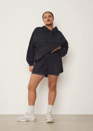 Спортивные технологичные шорты - Kangu Mango. Цвет: черный