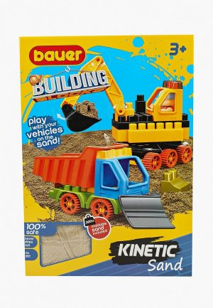 Конструктор Bauer Building Kinetic (набор с бульдозером и грузовиком). Цвет: разноцветный