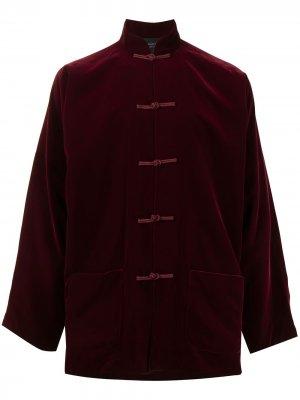 Бархатный пиджак Tang Shanghai. Цвет: красный