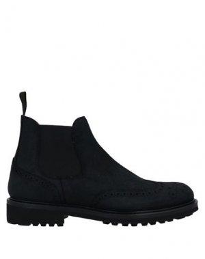 Полусапоги и высокие ботинки DOUCAL'S. Цвет: черный