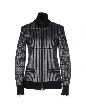 Куртка HOGAN by KARL LAGERFELD. Цвет: свинцово-серый