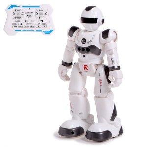 Робот-игрушка радиоуправляемый iq bot gravitone, русское озвучивание, цвет серый WOOW TOYS