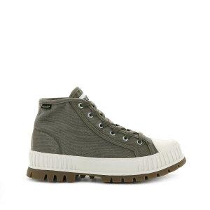 Ботинки La Redoute. Цвет: зеленый