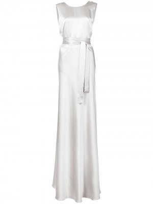 Длинное платье с поясом Voz