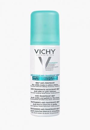 Дезодорант Vichy спрей против белых и желтых пятен, 48ч защиты, 125 мл. Цвет: прозрачный