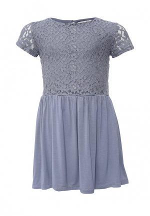 Платье Little Pieces. Цвет: синий