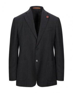 Пиджак GABARDINE. Цвет: стальной серый