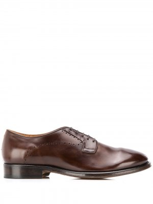 Туфли дерби Zen Alberto Fasciani. Цвет: коричневый