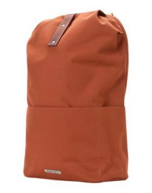 Рюкзаки и сумки на пояс BROOKS. Цвет: коричневый