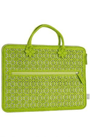 Сумка для ноутбука Burgmeister. Цвет: green
