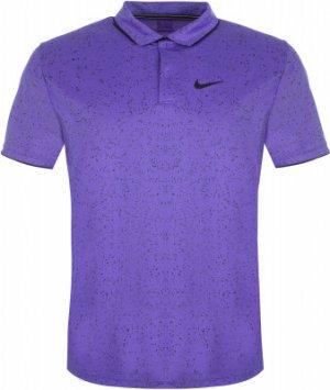 Поло мужское Court Dry, размер 44-46 Nike. Цвет: фиолетовый