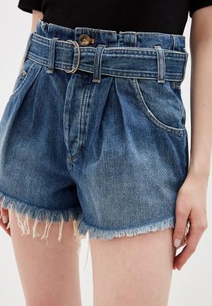 Шорты джинсовые Free People. Цвет: синий