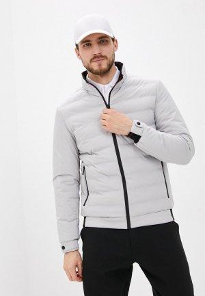 Куртка утепленная Jorg Weber. Цвет: серый