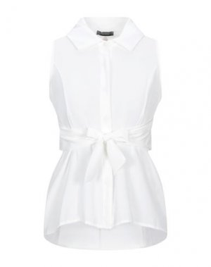 Pубашка FRACOMINA. Цвет: белый