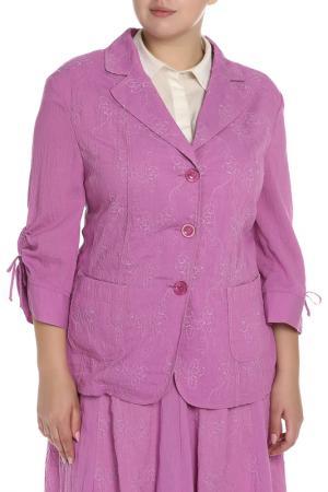 Пиджак Gelco. Цвет: розовый