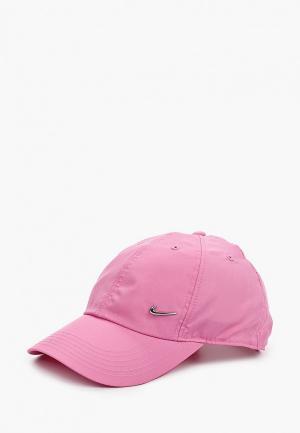 Бейсболка Nike Y NK H86 CAP METAL SWOOSH. Цвет: розовый
