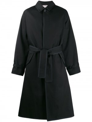 Пиджак оверсайз с рукавами реглан Thom Browne. Цвет: черный
