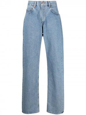 Levis: Made & Crafted широкие джинсы с завышенной талией Levi's:. Цвет: синий