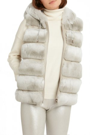 Vest John & Yoko. Цвет: light grey